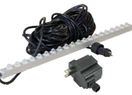 ProEco BLUE LED 47'' inch Weir Light Strips for Waterfall Spillways