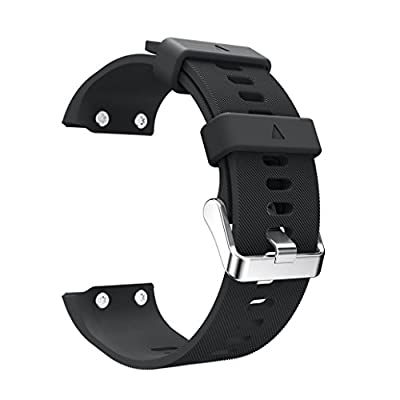 Alonea Replacement Wrist strap Silicagel Soft Band Strap For Garmin Forerunner 35