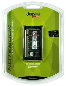 Kingston 1GB PC2-5300 667MHz DDR2 SDRAM Notebook Memory KVR667D2SO/1GR