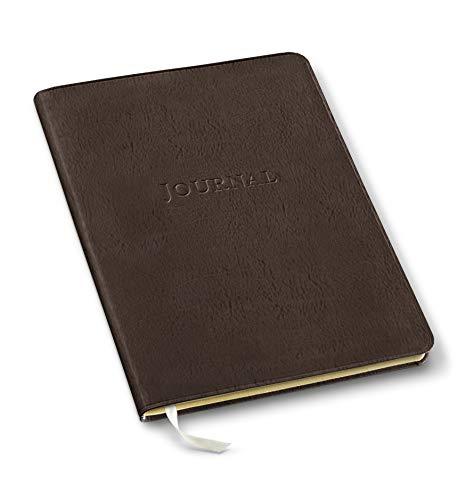Gallery Leather Large Desk Journal Freeport Mocha 9.75