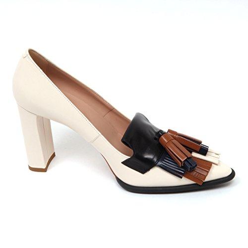 Avorio Avorio Donna Decollete T95 D0438 Tod's Frangia nappine Scarpa Shoe Woman 50wxvtEgq