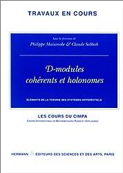 Eléments de la théorie des systèmes différentiels : D-modules cohérents et holonomes