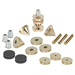 Dayton Audio DSS6-G Gold Speaker Spike Set 4 Pcs.