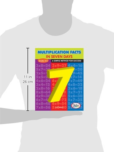 Multiplication Facts in Seven Days: A Simple Method for Success ...