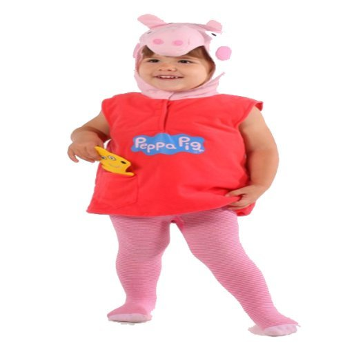 Peppa Pig Costume Dress up Halloween Age 2-3 Years