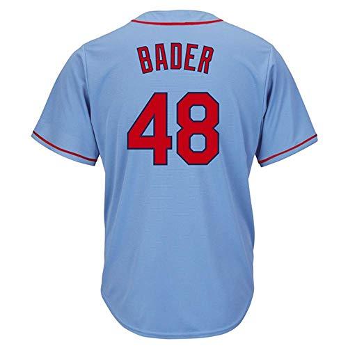 CAREFORM Men's/Women's/Youth_Bader_Light_#48_Fans_Jersey_Blue_Alternate_Cool_Base_Player_Jersey