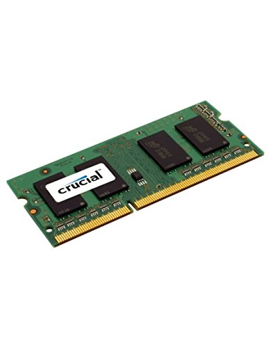 Crucial 8GB Single DDR3L 1600 MT/s (PC3L-12800) SODIMM 204-Pin Laptop Memory - Gb Quad Ddr3