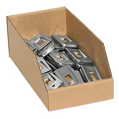Liamostee La Caja de Almacenamiento de la Caja del Organizador de la bater/ía Puede Contener bater/ías con probador extra/íble