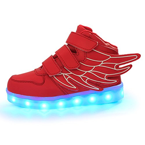 ANEMEL Childrens Flashing Rechargeable Sneakers product image