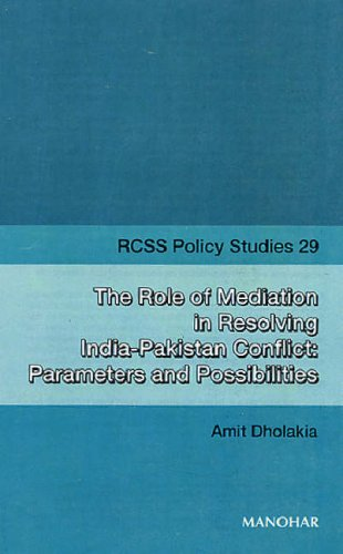 The Role of Meditation in Resolving India-Pakistan Conflicts (Rcss Policy Studies) pdf epub