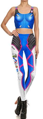 Mech Suit Costumes - Thenice Women's Elasticity Leggings Pencil Pants