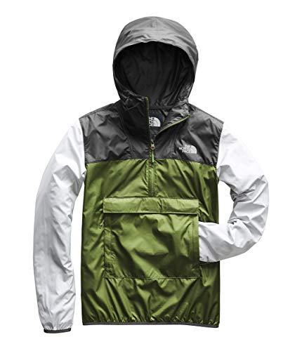 The North Face Men's Fanorak, Garden Green/Asphalt Grey/High Rise Grey, Size XL