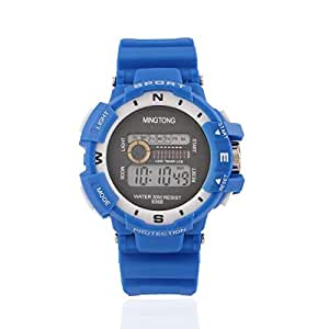 MINGTONG DIGITAL CHRONOGRAPH X SPORTS WATCH FOR MEN-BLUE