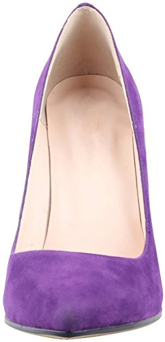 Calaier Womens Caeverybody Pekte Tå 10cm Stiletto Slip-on Pumper Sko Lilla