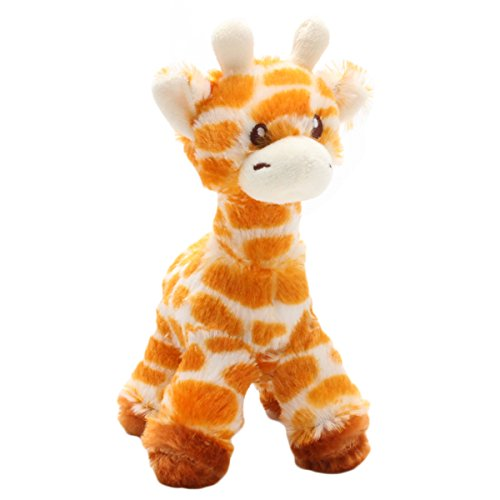 Levenkeness Giraffe Stuffed Animal Plush, 7.8 Inch Soft Cute Small Stuffed Giraffes Toys for Baby and Kids