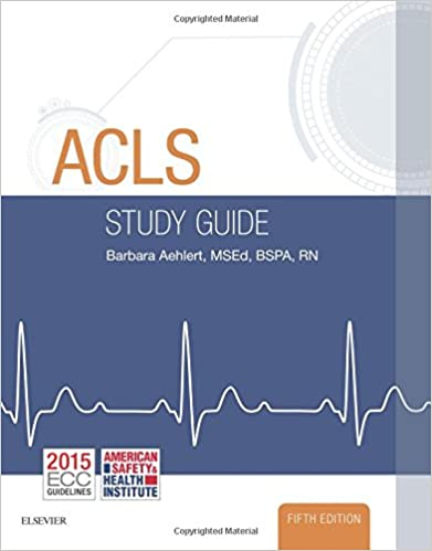 Acls study guide 5e barbara j aehlert rn bspa 9780323401142 acls study guide 5e 5th edition fandeluxe Gallery