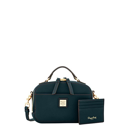Dooney & Bourke Belvedere Ambler Crossbody & Card Holder Black ()