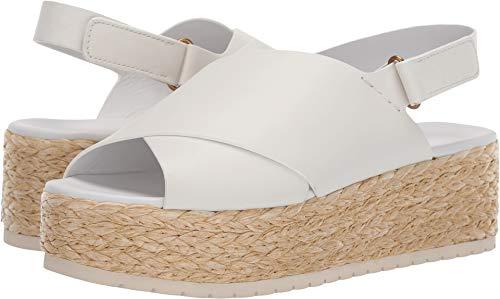 Vince Women's Jesson Platform Sandals, Off White, 7 M US from Vince