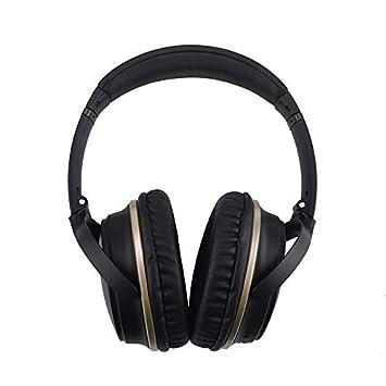 Auriculares De Diadema Bluetooth Inalámbricos para TV, Cascos Bluetooth Plegable para con Micrófono 10Hrs Reproducción