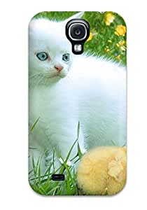 AmyAMorales Premium Protective Hard Case For Galaxy S4- Nice Design - Cat