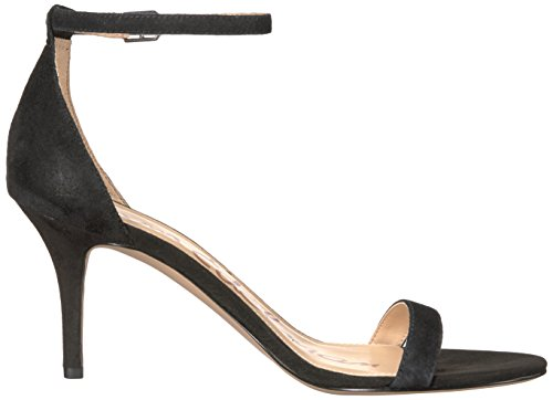 Sam Edelman Donna Patti Pumps Nero Suede Look