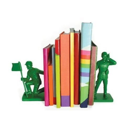 Bluw Toy Soldier Bookends by Make My Day
