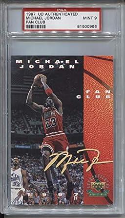 c0c52c58c9cb4 Amazon.com: Michael Jordan 1997 Upper Deck Authenticated Fan Club ...