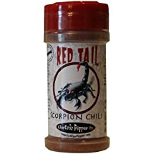 Scorpion Powder Chili Spice Seasoning Trinidad Moruga Pepper Powder Red Tail