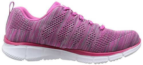 Skechers First Rate Equalizer Femmes, Toile, Sneaker Low Rose