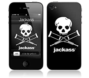 Zing Revolution MS-JKAS50133 Jackass - Logo Cell Phone Cover Skin for iPhone 4/4S