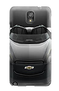 Quality CaseyKBrown Case Cover With 2011 Chevrolet Mi Ray Roadster Concept Nice Appearance Compatible With Galaxy Note 3