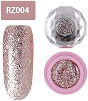 Nail UV Gel Polish Soak Off Nail Art Topcoat Pink Diamond Color Gel