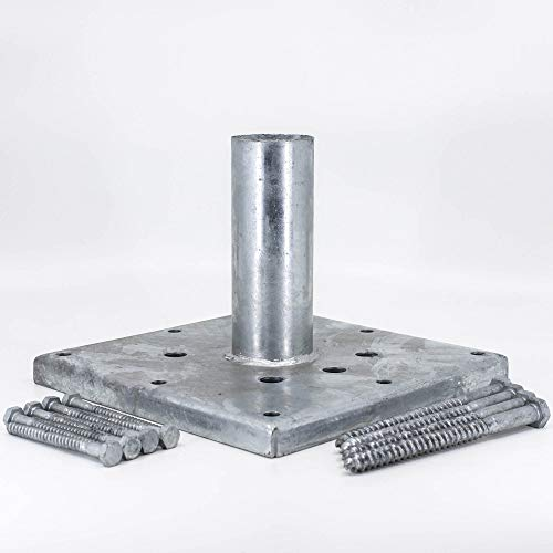 (Titan Building Products - 6x6 Wood Post Anchor Kit- TIPRG661 - Galvanized - 5.5