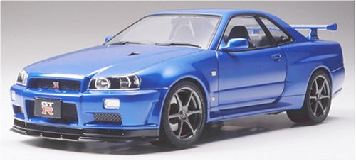 Nissan Skyline GT-R V-Spec II Model Car 1/24 Tamiya (Nissan Skyline Model compare prices)