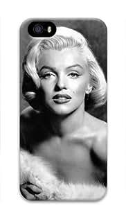 Yolaa Beautiful Woman Marilyn Monroe-4 Iphone 5/5S Hard Protective 3D Case