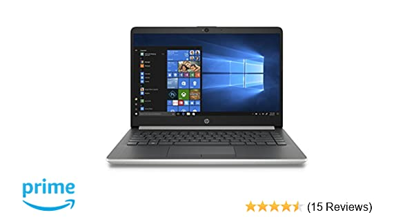 HP 14-inch Laptop, 8th Generation Intel Core i3-8130U Processor, 4 GB  SDRAM, 128 GB Solid State Drive, Windows 10 Home in S Mode (14-df0020nr,  Natural