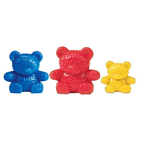 Learning Resources Counting Bears, Educational Counting & Sorting Toy, Set of 80