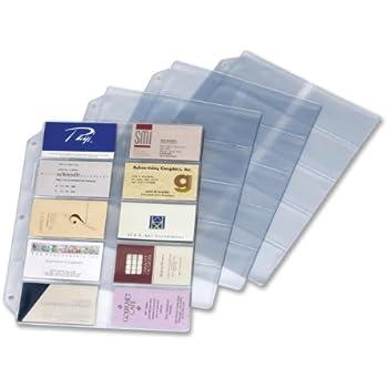 Amazon rolodex business card binder kit 67696 business cardinal business card refills 7856 000 colourmoves