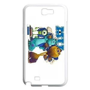 Samsung Galaxy Note 2 White phone case Disney Cartoon Comic Series Monsters Inc OLR3096458