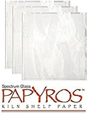 "Spectrum Papyros Kiln Shelf Paper 20 1/2"" Square -5 Sheets"