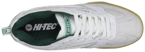 Trainers 011 Tec Blanc Hi Court Classic Vert Blanc Unisex Squash Vert Adultes Blanc nv6cywcYqB