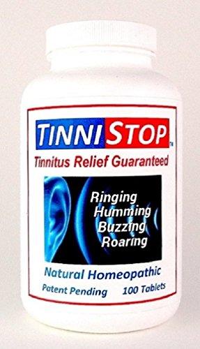 TinniStop - #1 Best Selling Natural Tinnitus & Vertigo Remedy, Guaranteed Relief