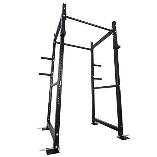 VEVOR Power Racks Weightlifting Multi-Functional Power Rack BD-41 Heavy Duty Power Cage with Adjustable Bar