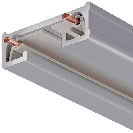 Juno Lighting 4FT SL R Series Trac-Lite Track Section, 4', Silver