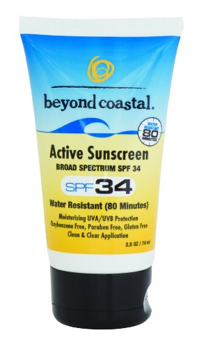 Beyond Coastal Active SPF 34 Sunscreen (4-Ounce) Active Sunscreen