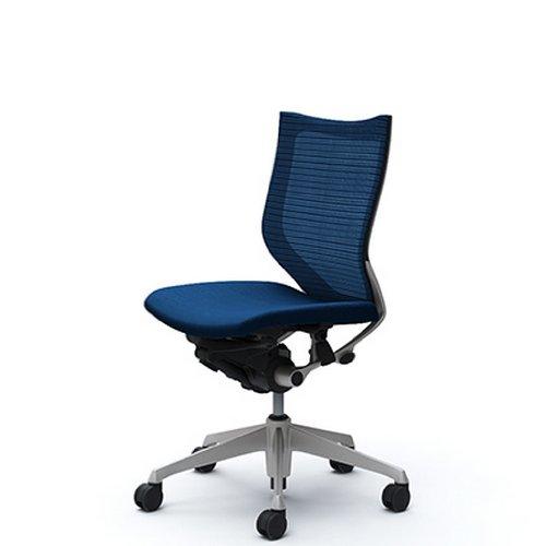 オカムラ デスクチェア オフィスチェア バロン ローバック 肘なし 座クッション ミディアムブルー CP33DR-FEF4 B000NMR4M2 ミディアムブル- CP33DR FEF4 ミディアムブル- CP33DR FEF4