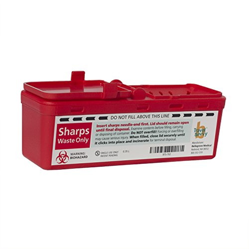 Container Sharps Travel 0.5QT