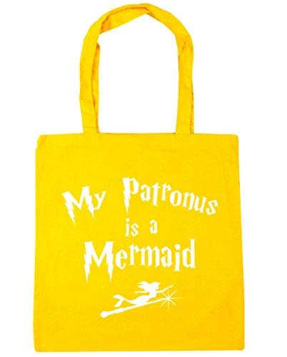 litres Bag Shopping My HippoWarehouse 42cm Mermaid 10 Yellow Patronus A Beach Gym Tote Is x38cm z1wOY1q