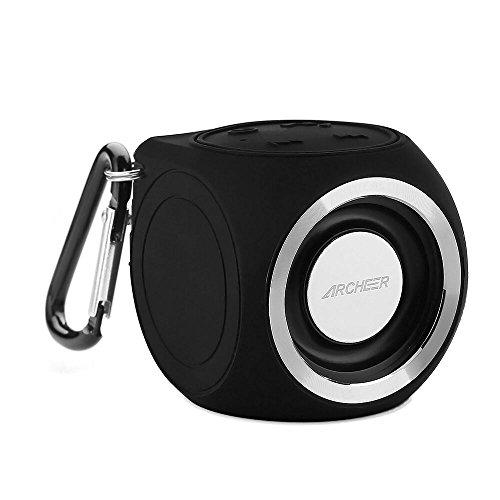 Archeer Waterproof Bluetooth Speakers Microphone