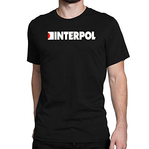 GOOD COME FROM Men's Interpol Band Logo Short Sleeve T Shirt